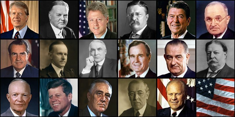 [Quiz] Name Presidents